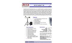 Buck LinEair - 40 LPM, 230 VAC - Air Sampling Pump - Brochure