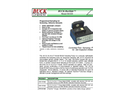 BUCK BioSlide - Model B1020 - Controlled Flow Sampling Pump for Gel-Impaction Slides - Brochrue