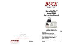 Buck BioAire - Model B520 - Bioaerosol Sampling Pump - Instruction Manual
