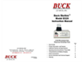 Buck BioAire - Model B520 - Bioaerosol Sampling Pump - Instruction Manual