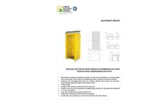 Depositobombole SD3 - Gas Cylinders Storage Datasheet