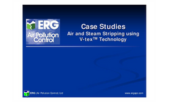 Air and Steam Stripping Using V-tex Technology Presentation