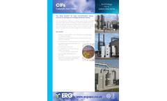 ERG - CIFs Catalytic Iron Filters - Brochure