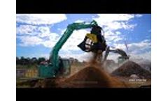 The Boss Rotating Screening Bucket (BRS120) in action. #LIKE-A-BOSS Video