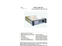 ETG - Model MCA 100 SYN - Stationary Syngas Analyzer System - Brochure