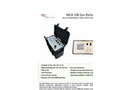 ETG - Model MCA 100 SYN P - Portable Syngas Analyzer - Brochure