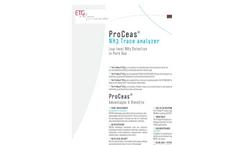 ETG ProCeas NH3 Trace Analyzer - Brochure
