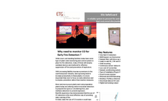 Early Warning System to Prevent Fire in Dust Coal Silo - Brochure