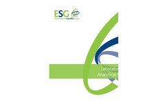ESG Laboratories & Analytical Services Brochure