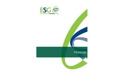 ESG Materials Testing Brochure