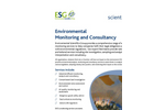 Environmental Monitoring and Consultancy Service – Brochure