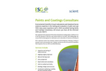 Paints and Coatings Consultancy Service – Brochure