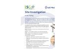 In Situ Testing Service – Brochure