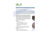 Environmental Due Diligence Service – Brochure
