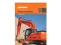 Doosan - Model DX180LC-3 - Crawler Excavator - Brochure