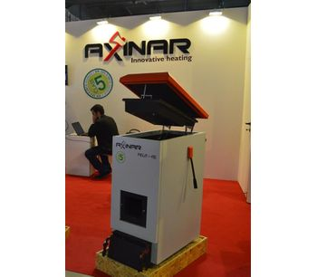 AXINAR - Model 25-150 kW - Pellet Boiler