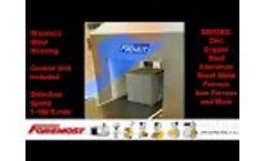 BD HD M PULSE2 / Tunnel Metal Detector Video