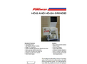 Foremost - Model HD-2 and HD-2H - Heavy Duty Grinders Datasheet