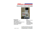 Foremost - Model HD-2 and HD-2H - Heavy Duty Grinders - Datasheet