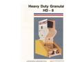 Foremost - Model HD-8 - Heavy Duty Granulators Datasheet