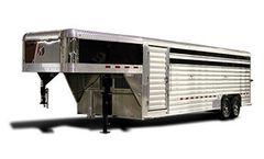 Kiefer - Model Deluxe II Wide - Livestock Trailers