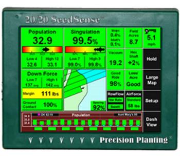 Version 20/20 Seed Sense - Precision Planting Monitoring Systems