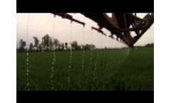 Chafer Stream Bars - Post Applying Liquid Nitrogen to Wheat To Boost Yield Potential - Video