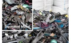 Separating Ferrous Metals When Recycling Printer Cartridges