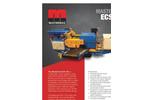 Mastertrax - Model ECS150 - Mobile Eddy Current Separator - Brochure