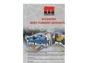 Eccentric Eddy Current Separators - Brochure