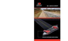 Bri-Mar - Model DTR508LP-3 - Single Axle - Low Profile Dump Trailer Brochure