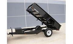 Bri-Mar - Model DTR508LP-3 - Single Axle - Low Profile Dump Trailer