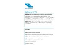 Buwa - Model 0,5 mm - PVC Water Storage Tank Liner Brochure
