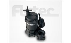 Model FPSE2800A - Thermoplastic Effluent Pump 1/3 HP