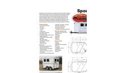 Stockman - Aluminum Bumper Pull Stock Trailer Brochure