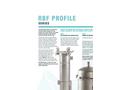 Model RBF Profile Series - Side Entry Recessed Basket Design Filter Bag Housing Brochure