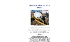 SFE300 - Pull Type Sprayers Brochure