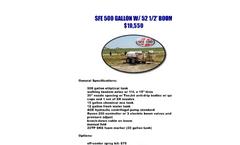 SFE500 Gallon - Pull Type Sprayer Brochure
