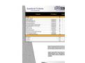 uperScrim - Model D Series - Pro-Forma Datasheet