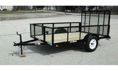 Currahee - Single Axle Landscape Trailers with High Sides