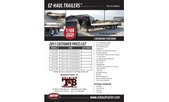 EZ-Haul - Model 7K - Flat Bed Trailers - Brochure