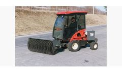 Sweepster - Model CTH - Commercial Turf Mower Angle Sweeper - Hydraulic Drive