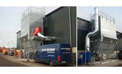 Ammonia sanitisation of sewage sludge using urea