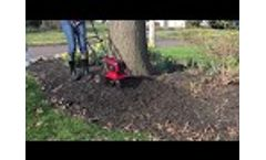 Mantis Cordless Cultivator Refreshes Garden Bed Fast