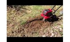 Mantis Electric Cultivator Digs Up Dead Spots In Grass