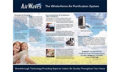 AirWaves Whole-Home Air Purifying System Brochure