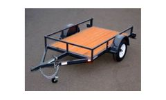 Iron Eagle - Model Economax Series - Transport Trailer