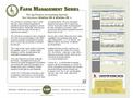 Countryside - WinOne VB & WinOne VB + - Ag-Finance Accounting System Software Datasheet