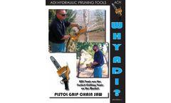TOL - Model ACH - Pistol Grip Chain Saw - Brochure
