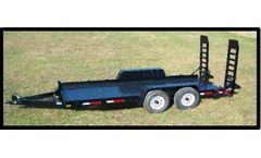 Model FBH - Tandom Axle Heavy Flatbed Trailer